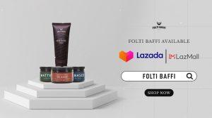 Lazada Mall Folti Baffi Pomade Rambut dan Penumbuh Jenggot