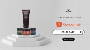 Shopee Mall Folti Baffi Pomade Rambut dan Penumbuh Jenggot