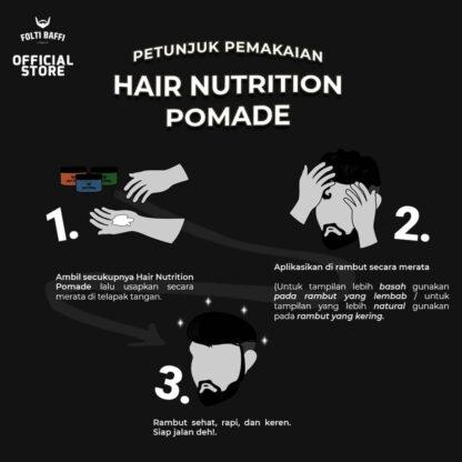 Folti Baffi Hair Nutrition Pomade Waterbased
