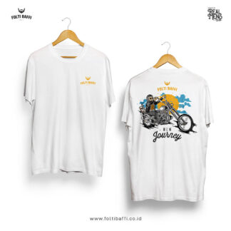 Folti Baffi T-Shirt New Journey