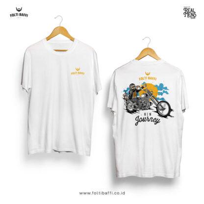 Folti Baffi T-Shirt New Journey