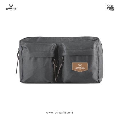 Folti Baffi Waist Bag Grey