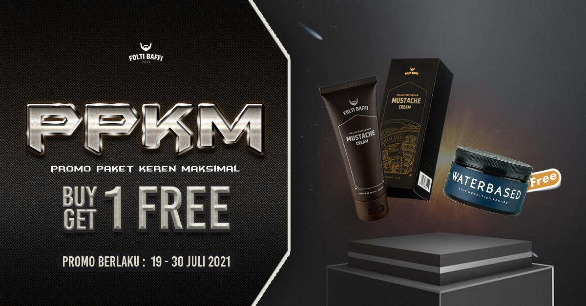 Promo PPKM Mustache Cream